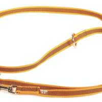 Laisse antidérapante avec 3 anneaux et 2 Mousquetons (Laisse de Police) Color Gray Julius K9