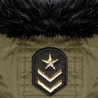 Manteau SPUTNYK KAKY (idéal pour les Bouledogue et les Carlin) *