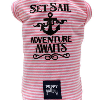Tee Shirt SET SAIL PINK