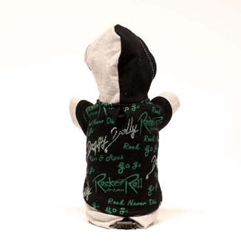 Sweat Shirt ROCK & ROLLS BLACK HOOT