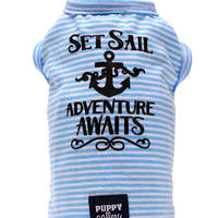 Tee Shirt SET SAIL Blue