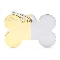 Médaille gravée brillante (Dorée ou Argentée)