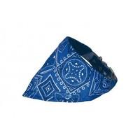 Collier Bandanas bleu