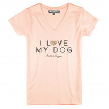 Tee-Shirt pour Femme I Love My Dog