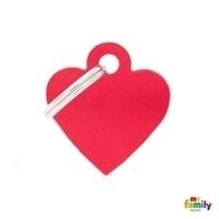 Médaille gravée en forme de Coeur