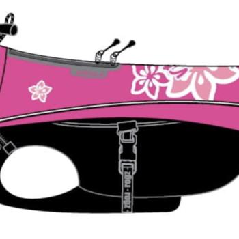 Imperméable Rogz Snowskin Pink Hibiscus