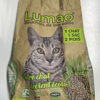 Lumao Litière 100% biodégradable
